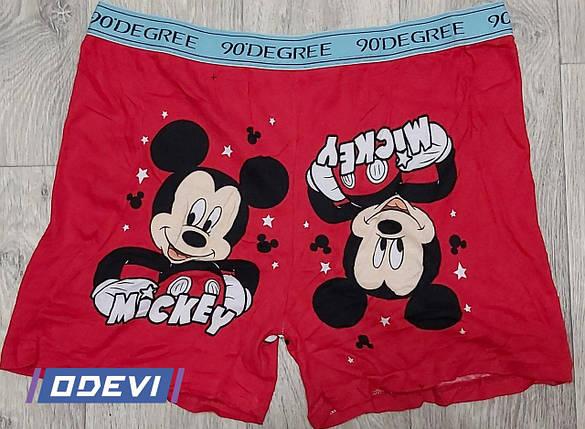 Сімейні труси бавовна з малюнком Mickey 5XL, фото 2