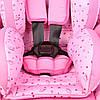Автокрісло Kiduku 9-36 kg 1/2/3 (рожеве), фото 3