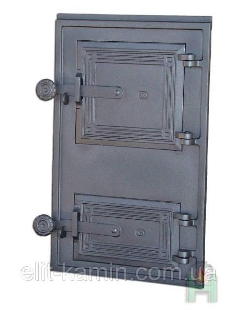 Чугунные дверцы для барбекю Halmat DPK11 (Н1613) (465x290)