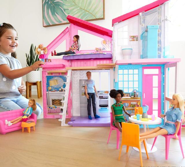 Barbie Будиночок Барбі Малібу  (Домик в Малибу Барби Набор Mattel Barbie Malibu House Playset FXG57)