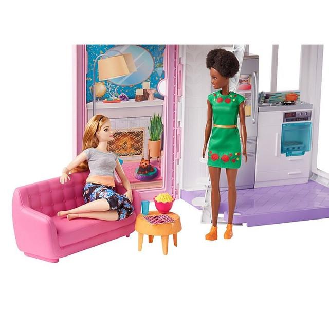 Домик в Малибу Барби Набор Mattel Barbie Malibu House Playset FXG57)