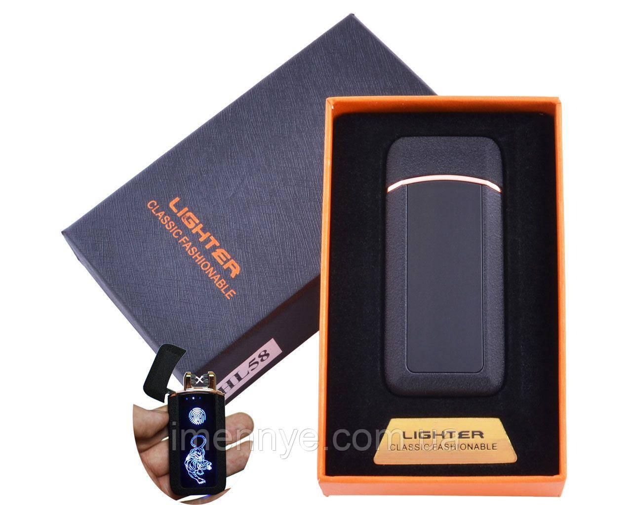 USB зажигалка сенсорный экран