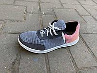 Кроссовки женские на шнурках KG, фото 1