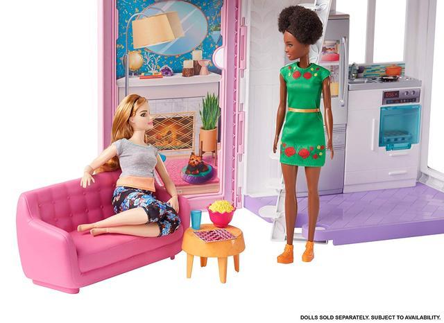 Barbie Будиночок Барбі Малібу  (Домик в Малибу Барби Набор Mattel Barbie Malibu House FXG57 6 комнат, 25 акс.)