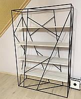 Дизайнерский Стеллаж в стиле Лофт Loft