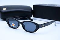 Солнцезащитные очки Chanel 2025 черные, фото 1