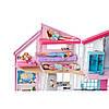 Barbie Домик в Малибу Барби Набор Mattel Barbie Malibu House FXG57 6 комнат, 25 акс., фото 2
