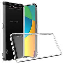 Чехол накладка силиконовый SK Ultrathin для Samsung A805 A80 Transparent