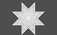 СТЕЛЬОВА ПАНЕЛЬ 1.57.501 Європласт (Колекція Мавританія), фото 1