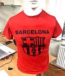 Футболка Турция A.S.L Унисекс Мужская и Женская Размер M, L, XL, XXL Barselona FCB, фото 4