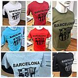 Футболка Турция A.S.L Унисекс Мужская и Женская Размер M, L, XL, XXL Barselona FCB, фото 8