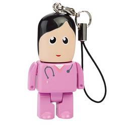 USB флешка оригінальна подарункова міні Kronos Медсестра на 16 Гб (acf_00147)