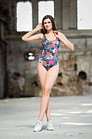 Цельный купальник голубой,купальник раздельный пляжный,цельный купальник ,купальник ярко-красный,черный купаль