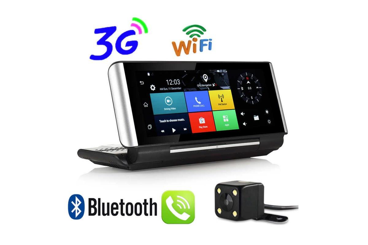 Авторегистратор K6 Android,GPS,навигатор, камера заднего вида,трекер