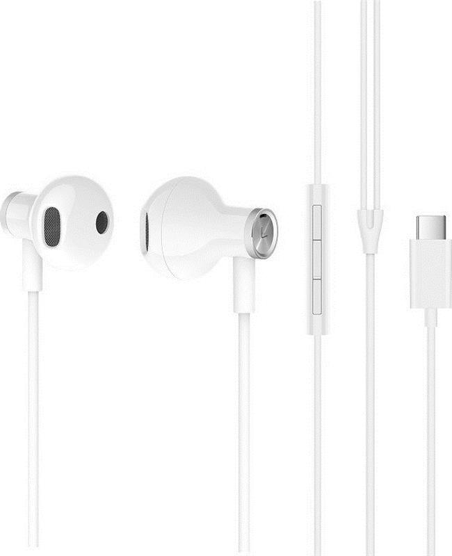 Гарнитура Xiaomi Mi Dual Driver Earphones Type-C White (ZBW4434TY)