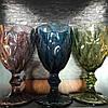 Набор из 6 бокалов из розового цветного стекла Изольда по 300 мл, фото 3