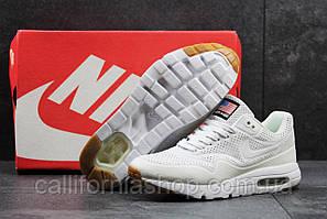 Кроссовки мужские белые Nike Air Max 1 Ultra Moir рефлективные, размер 44