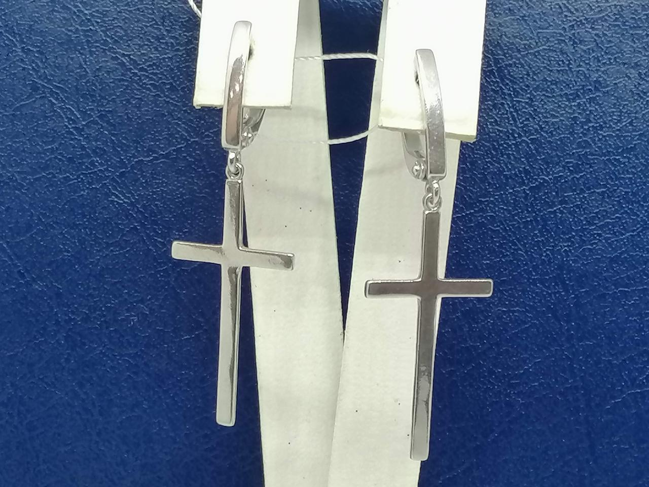 Срібні сережки. Артикул СБ932С