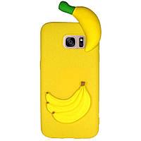 Чехол Cartoon 3D Case для Samsung G935 Galaxy S7 Edge Бананы