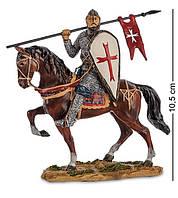 Статуэтка, миниатюра Оловянный Рыцарь Крестоносец Veronese WS-818
