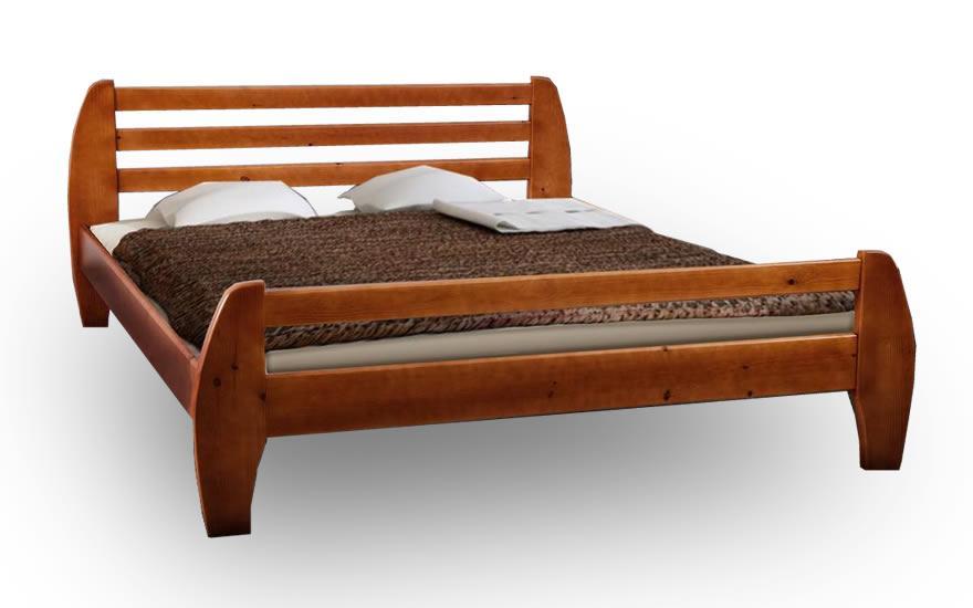 Кровать деревянная двуспальная Галакси 1,8м сосна.