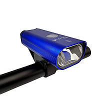 """Велосипедная LED Фара """"FluxFire"""" USB синяя, фото 1"""