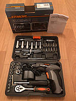 Набор инструмента с шуруповертом STHOR 44 единицы