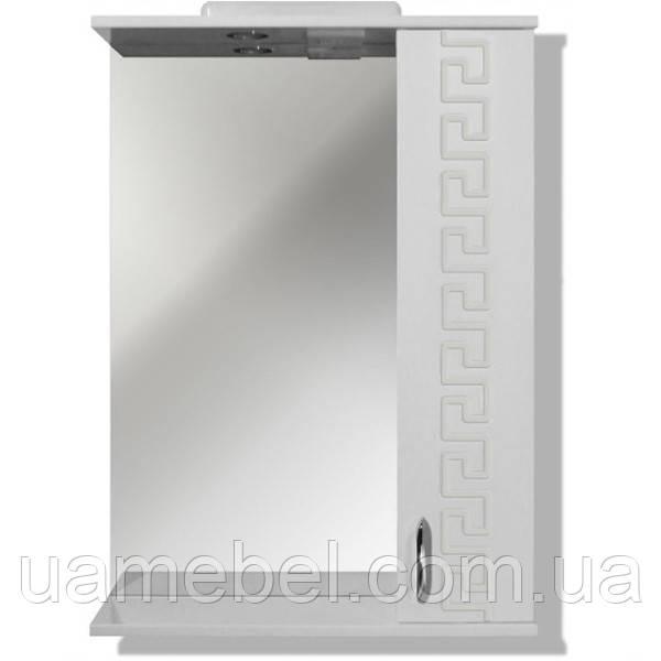 Зеркало The MIX в ванну «Themix-Греция» LED подсветкой 55х70х17