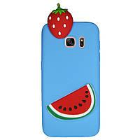 Чохол Cartoon 3D Case для Samsung G935 Galaxy S7 Edge Кавун
