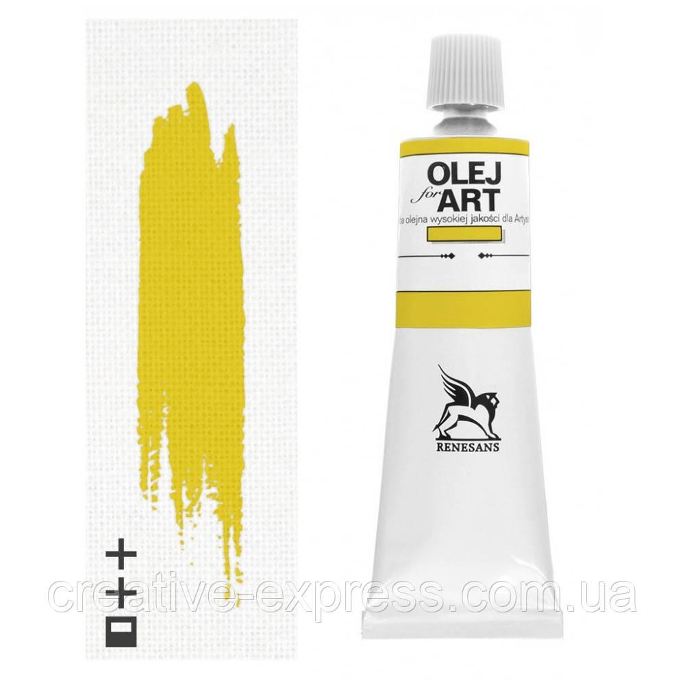 Фарба олійна, Кадмій жовтий світлий, 140мл, Renesans