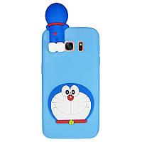 Чехол Cartoon 3D Case для Samsung G935 Galaxy S7 Edge Кот