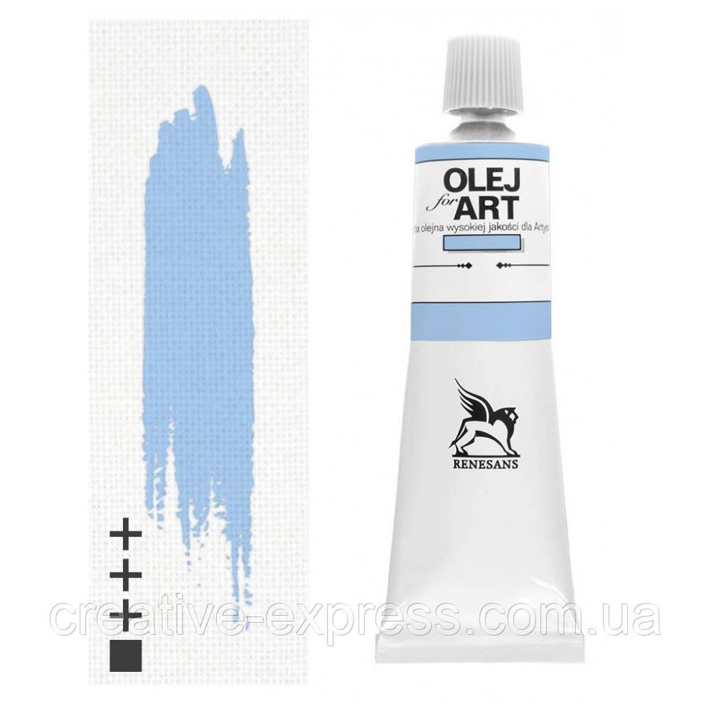 Фарба олійна, Королівський блакитний, 140мл, Renesans