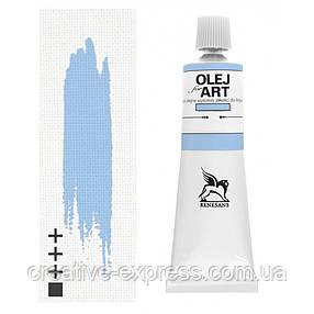 Фарба олійна, Королівський блакитний, 140мл, Renesans, фото 2