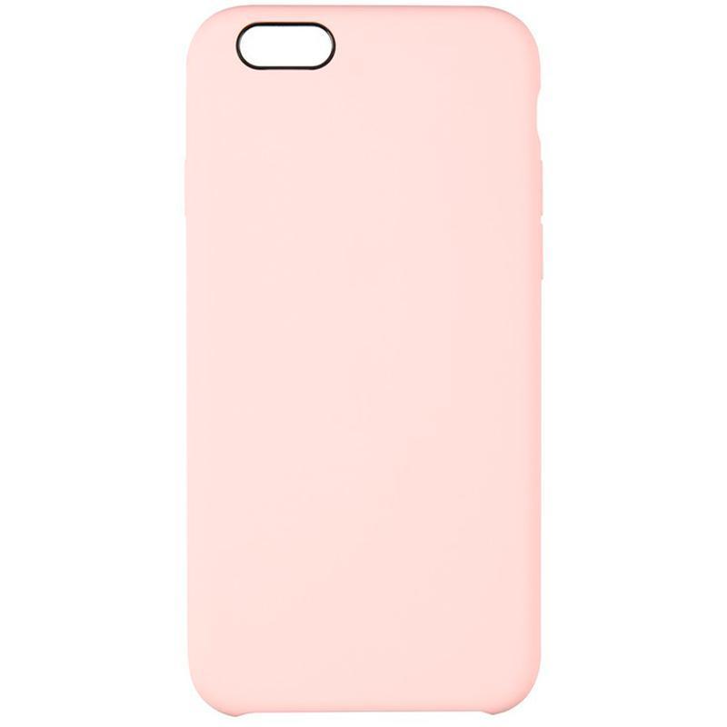 Оригінальний силіконовий бампер Soft Matte Case для iPhone 6 Plus/6s Plus Pink