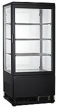 Вітрина холодильна GoodFood RT78L (чорна)
