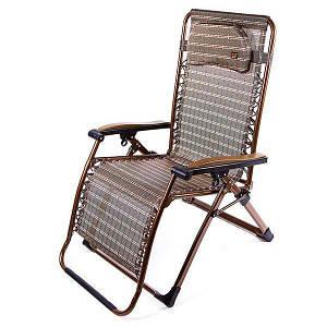 Шезлонг туристический HY-8009-3 раскладушка кресло лежак 200*68
