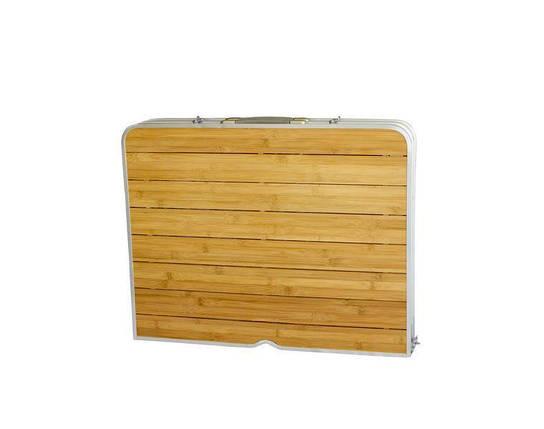 Стол бамбуковый складной 120*70*70 см раскладной стол, фото 2