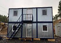 Бу Двухэтажная строительная бытовка, крепкий и теплый вагончик, битовка. ДОСТАВКА