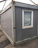 Бу Бытовка строительная 6 метров, крепкий и теплый вагончик, битовка. ДОСТАВКА