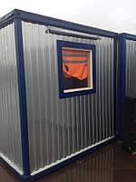Бу Бытовка строительная 6х2.5 метра, крепкий и теплый вагончик, битовка. ДОСТАВКА