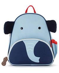Детский рюкзак Skip Hop Zoo Pack (Zoo Little Kid Backpack) - Elephant (Слоник), 3+