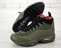 Зимние Мужские Кроссовки Nike Air Max 95 Sneakerboot Winter   Найк Аир Макс 95 (Реплика)
