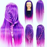 Кукла манекен Прически Фиолетовая мечта