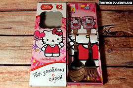 "Набір дитячий ложка і вилка Isfahan ""Hello Kitty"" 2 предмета (21012121/8)"