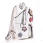 Сумка-рюкзак YES, белый, фото 3