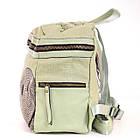 Сумка-рюкзак YES, зелений, фото 5