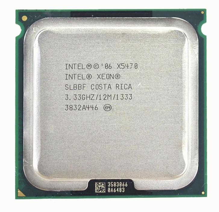 Процесор Intel Xeon X5470 4-ядра 3.33 GHz SLBBF E0 для LGA775 + термопаста GD900
