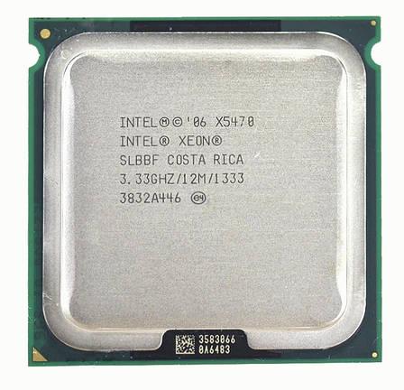 Процесор Intel Xeon X5470 4-ядра 3.33 GHz SLBBF E0 для LGA775 + термопаста GD900, фото 2