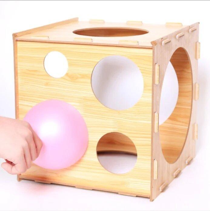Калибратор для воздушных шаров деревянный