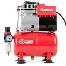 Компрессор 3л 50л/мин 3.2атм 0.3 кВт 220В безмасляный INTERTOOL | PT-0001